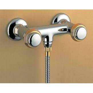 Wall mounted ceramic shower mixer 1/4 turn