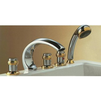 Bath thermostatic bath 5 holes antares