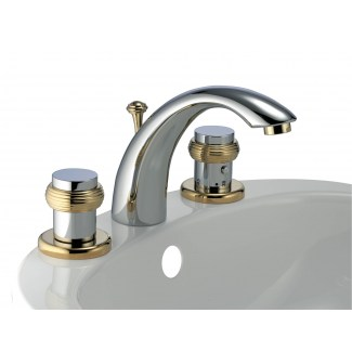 3 hole ixel thermostatic washbasin tap with pop-up waste
