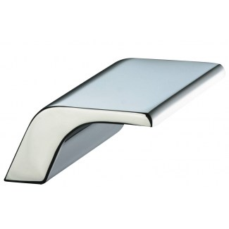 Cascade bathtub faucet 3 bis chrome short