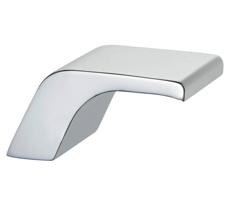Cascade bathtub washbasin spout 3 ter chrome narrow