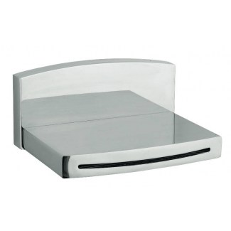 Half width wall-mounted bath spout 150mm