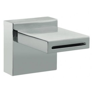 Chrome-plated washbasin spout width 78mm
