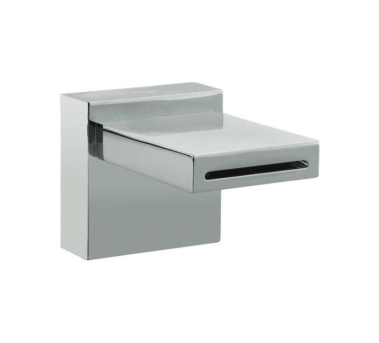 Caño de lavabo cromado ancho 78 mm