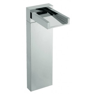 Chrome-plated washbasin spout