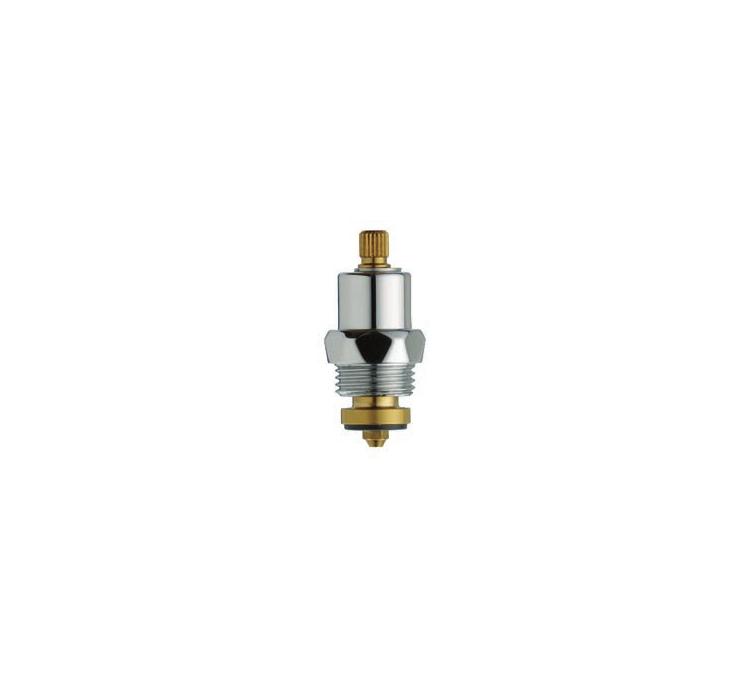 Tetes de robinet universelle chomée Ø 8X20 D crantée
