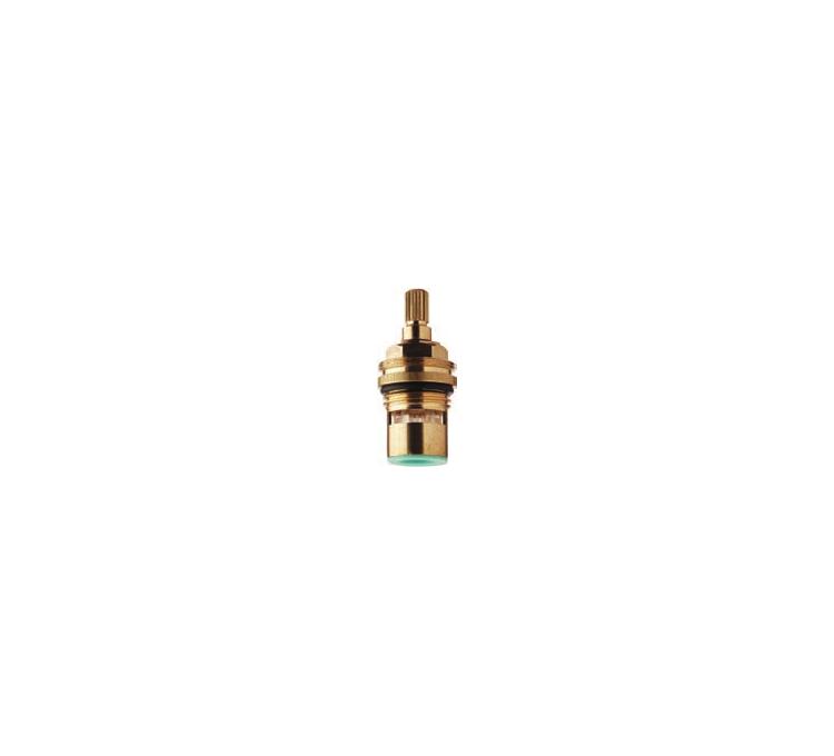 Tetes de robinet standard crantée en céramique Ø 8 x 20