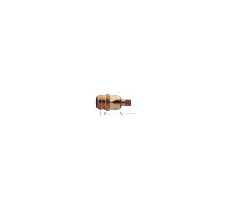 Tete de robinet spéciales Pangaud cadette 18 x150