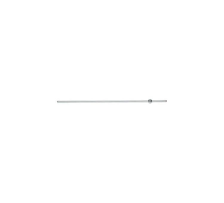 Varilla de descarga horizontal bola de latón Ø12mm