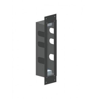 Scatola di installazione in acciaio inox per blocco termostatico 2 uscite