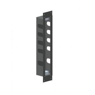 Scatola da incasso in acciaio inossidabile per blocco termostatico 4 uscite