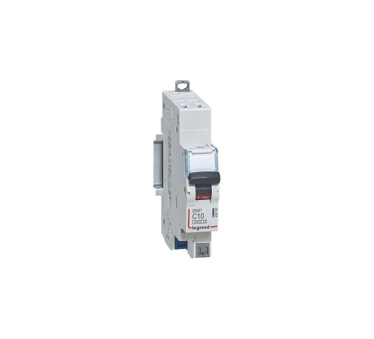 Disjoncteur phase + neutre auto LEGRAND 10A
