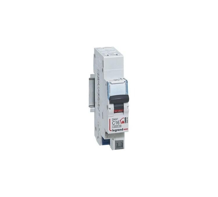 Disjoncteur phase + neutre auto LEGRAND 16A