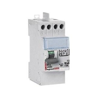 Interrupteur différentiel LEGRAND, 30 mA 40 A AC