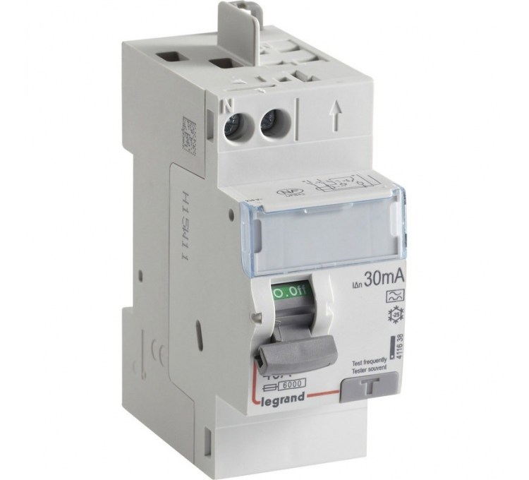 Interrupteur différentiel LEGRAND, 30 mA 40 A TYPE A