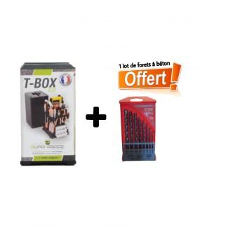 Boite à Outils TBox 400 + 1jeux tournevis offert
