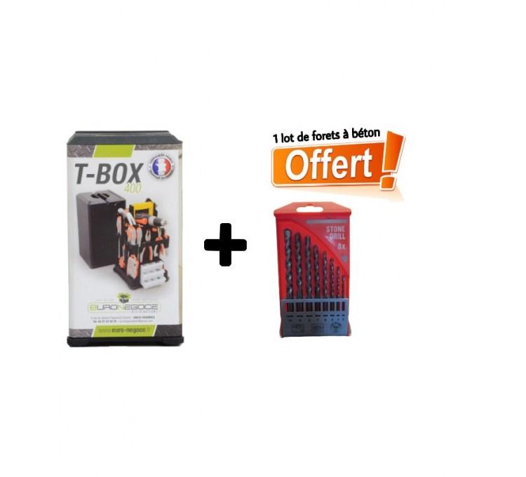 Boite à Outils TBox 400 +1jeux tournevis offert