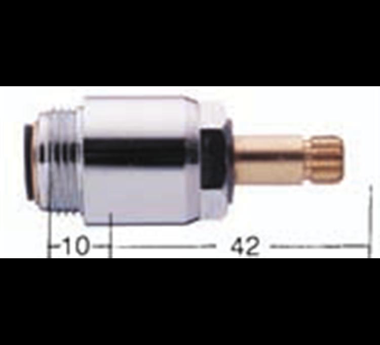 Tete de robinet spéciales Porcher monotrou 18x125