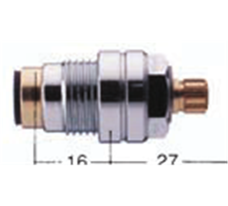 Testa speciale per rubinetto Porcher 3 fori valvola 18X150 1313