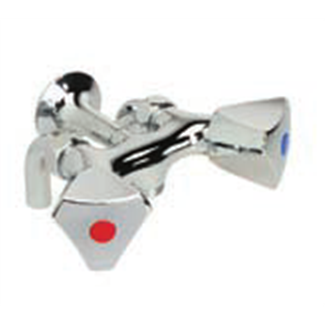 Shower mixer M1 / 2 center distance 80mm