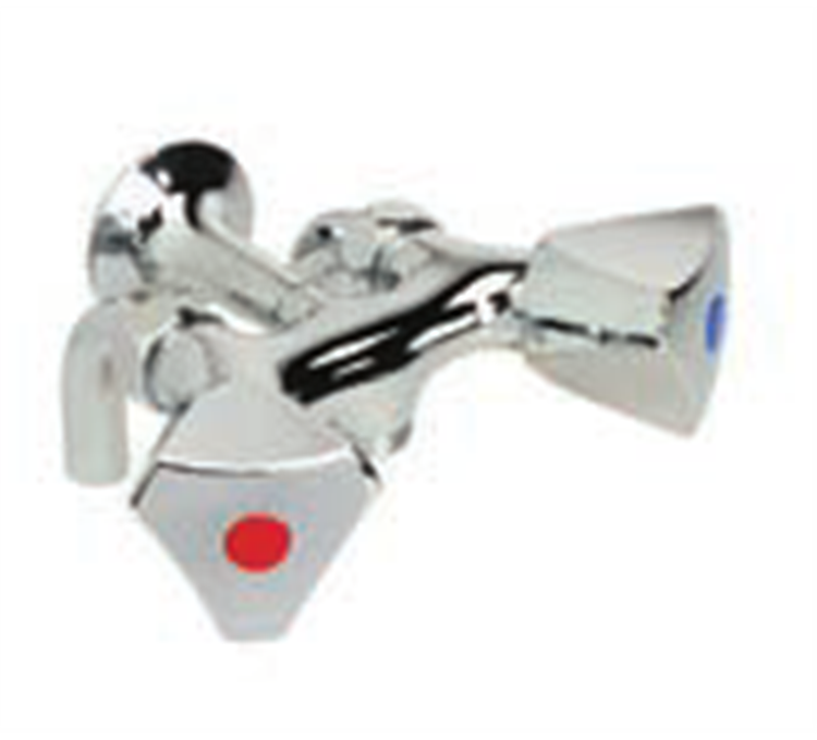 Mezclador de ducha M1 / 2 centro distancia 80mm