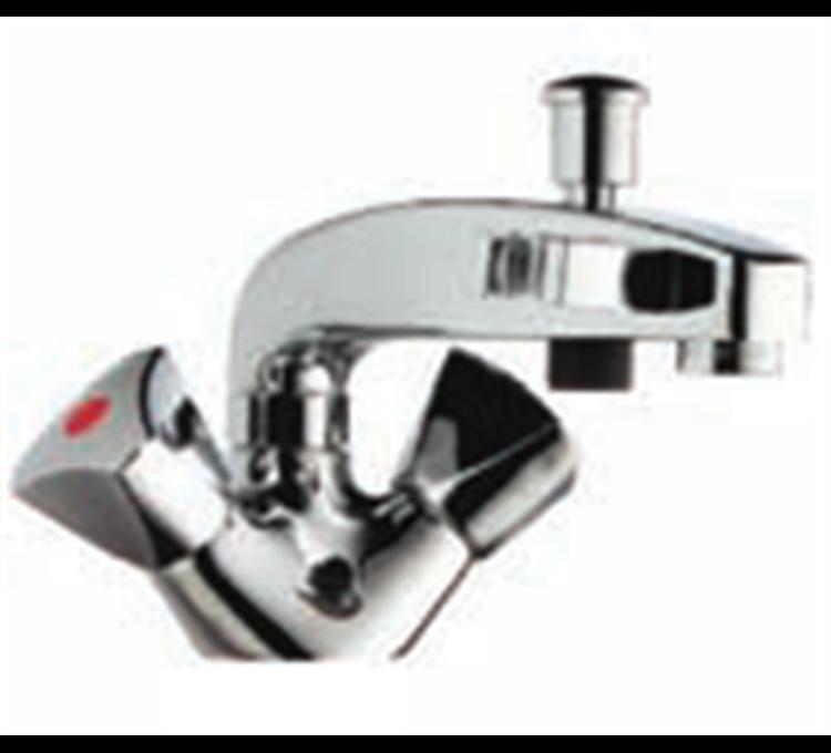 Inversor baño-ducha de un orificio con retorno automático