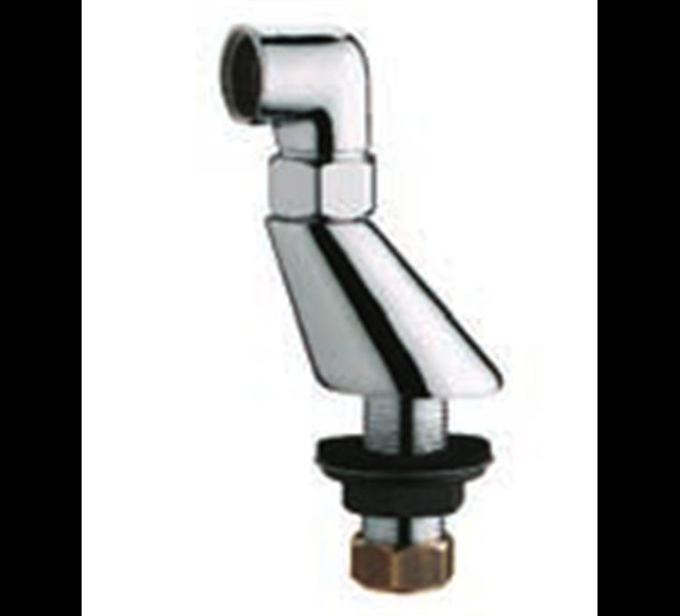 Wandanschluss an Exzenternut 22 mm