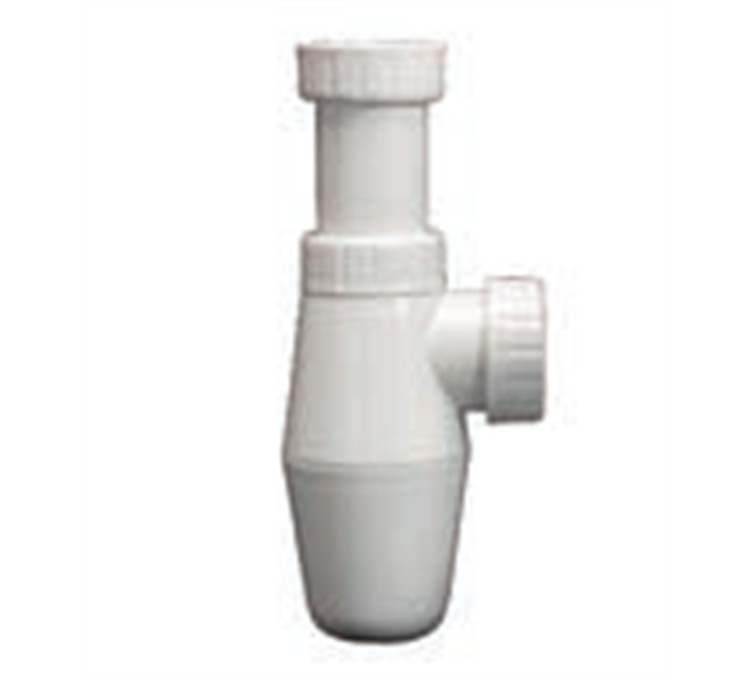 "Polypropylene sink siphon 1 ""1/2 adjustable Ø 40mm"