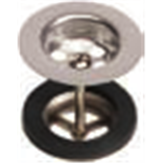 """Bung with stopper and chain 1 """"1/4"""