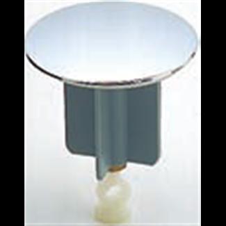 Check valve for drain valve in chromed brass