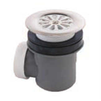 Receptacle siphoide drain Ø 60 mm with basket