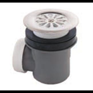 Receptacle siphoid plug Ø 60 mm with grid