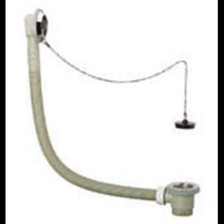 Vidage pour baignoire polypropylene avec chainette