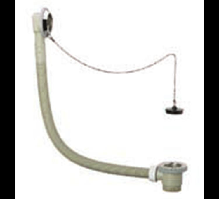 Desagüe de bañera de polipropileno con cadena