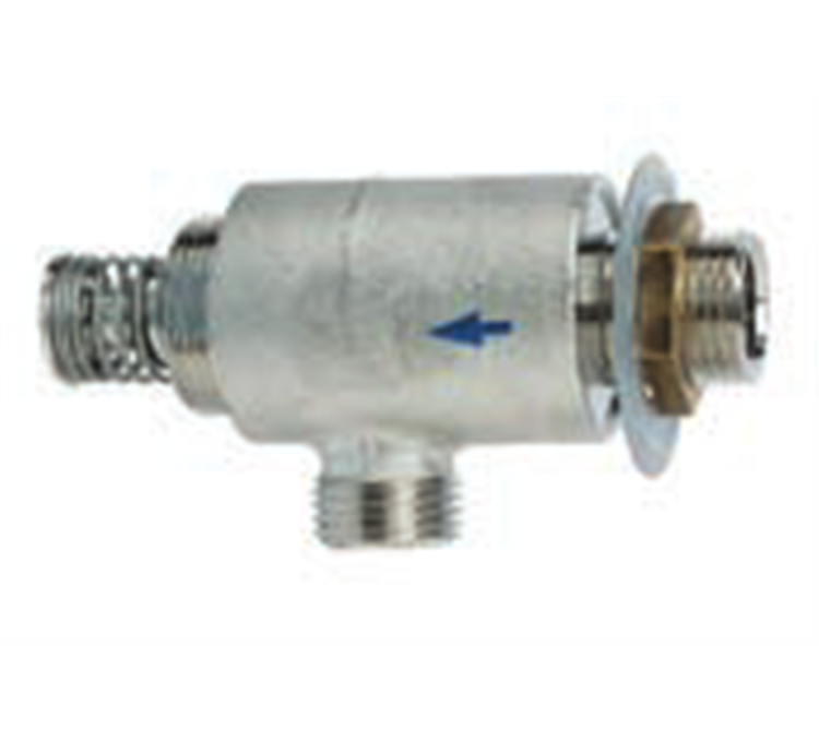 Industrial tap for square hand basin 1/2