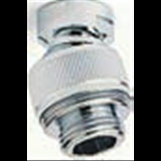 Rotule de douche MF 1/2 en laiton chromé