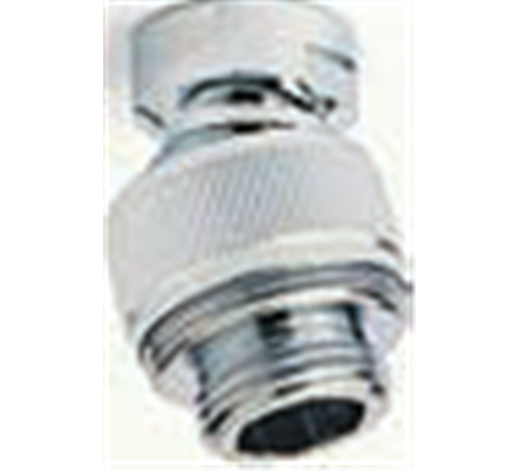 Shower head MF 1/2 in chrome-plated brass
