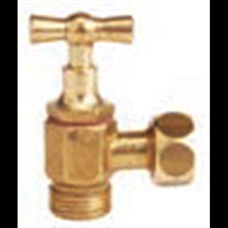 Stop valve for flush toilet 3/8