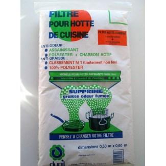 Filtre pour Hottes de cuisine Anti-graisses 2en1.