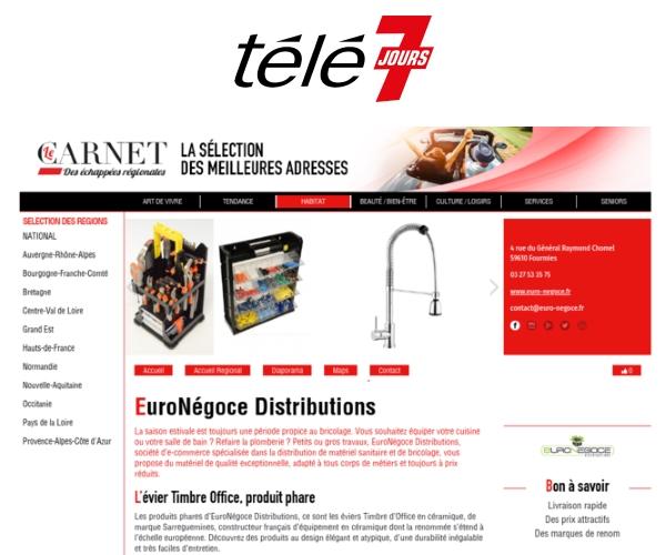 euro-negoce sur télé7jours